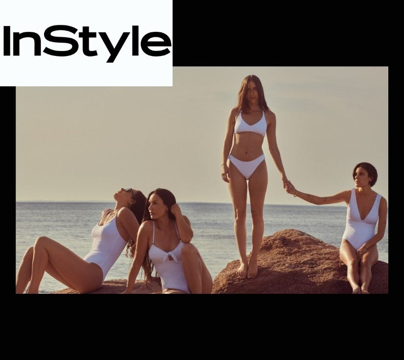Demi Moore and Daughters Wear Matching Swimsuits in Andie's Latest Campaign