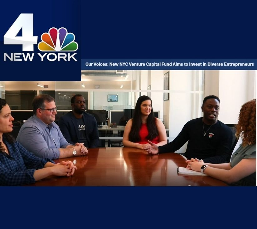 NYC Venture Capital Fund Aims to Invest in Diverse Entrepreneurs