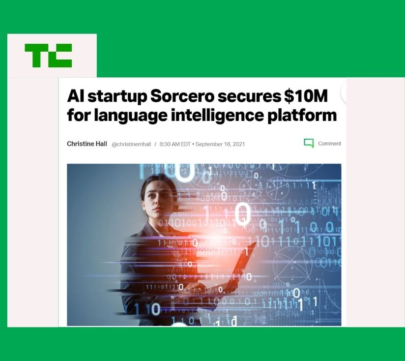 CityRock Co-Leads Sorcero's Series A to Scale the Language Intelligence Platform