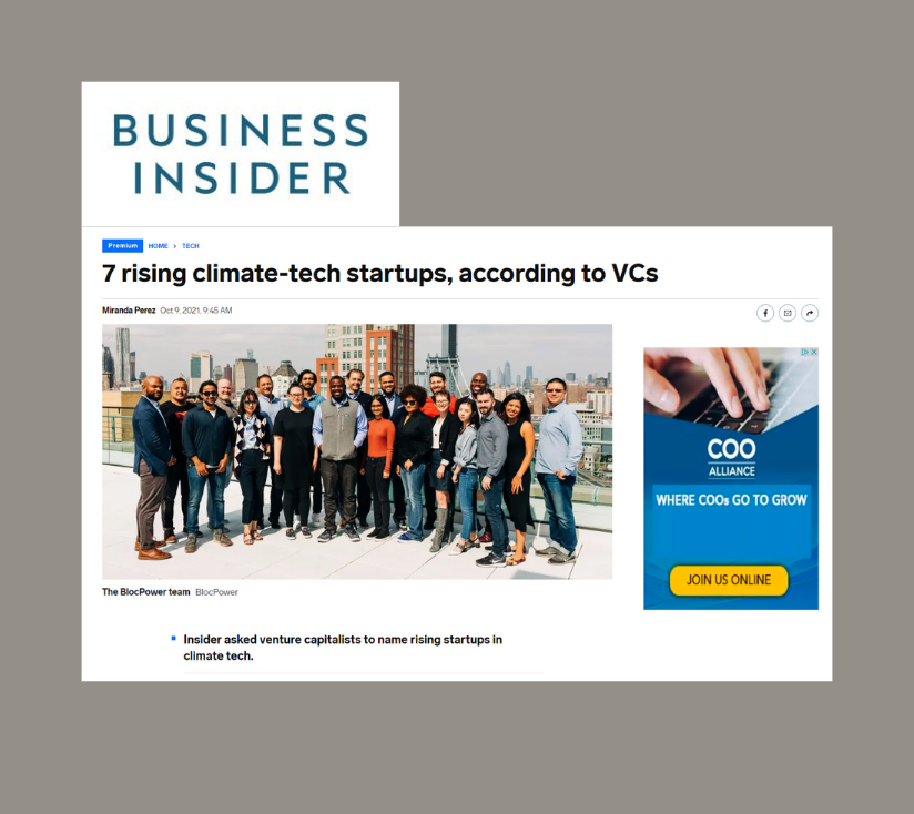 Blocpower & Sealed Among the 7 Rising Climate Tech Startups