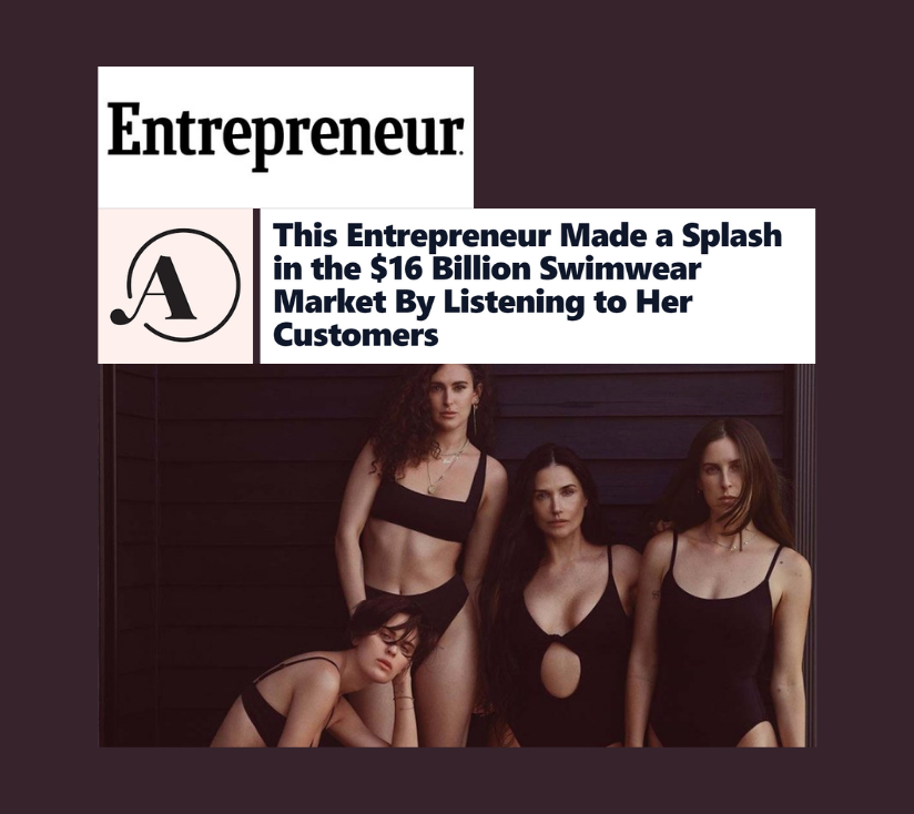 This Entrepreneur Made a Splash in the $16 Billion Swimwear Market By Listening to Her Customers